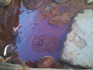 Soda Springs...CO2 bubbling from the ground