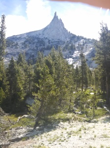 Cathedral Peak from the John Muir Trail